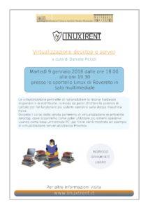 Locandina virtualizzazione