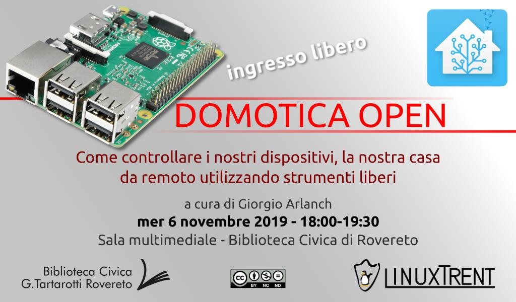 Locandina Domotica Open